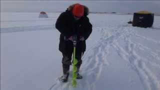 Льодобур + шуруповерт Ice Auger Test
