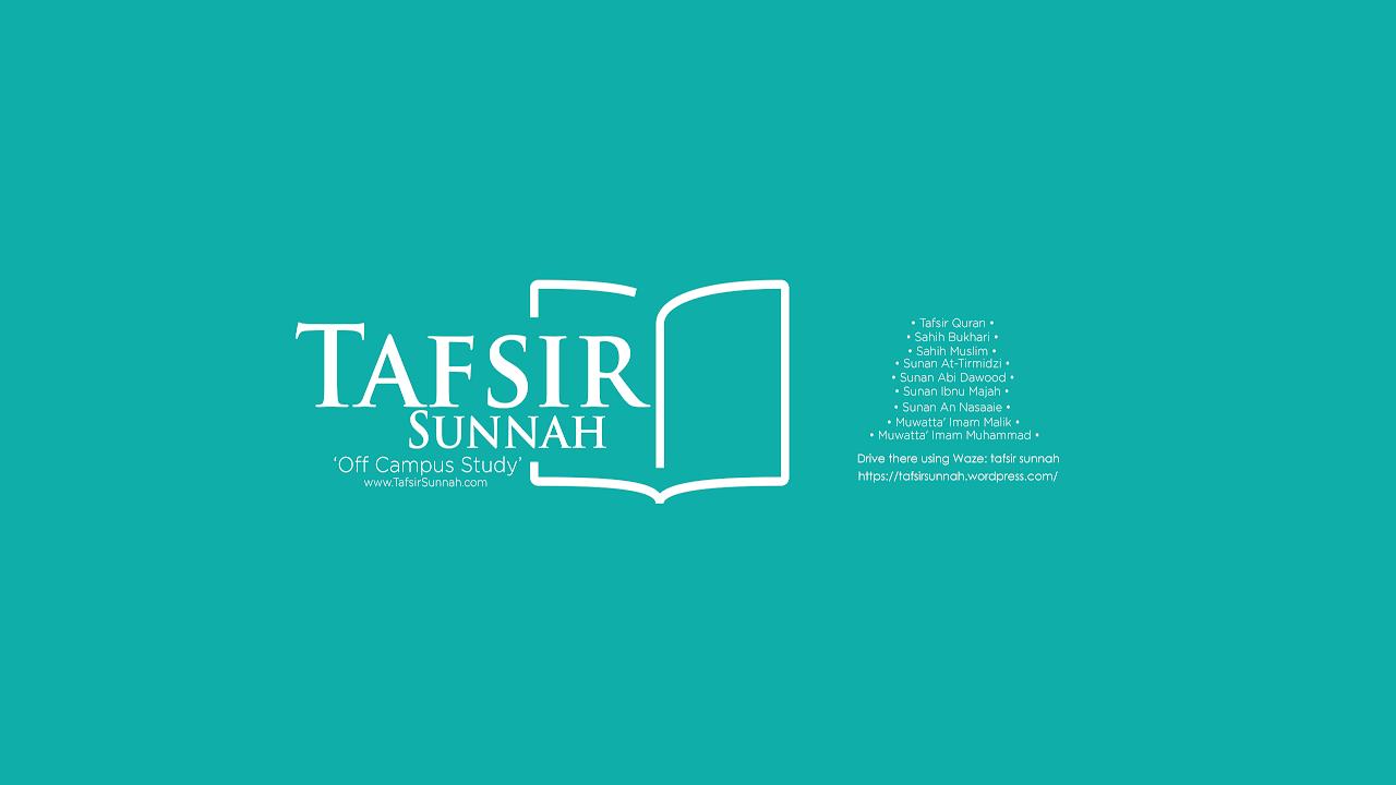 Download Kelas Usul Tafsir di Madrasah Tafsir Sunnah  (MTS 14-11-2018)
