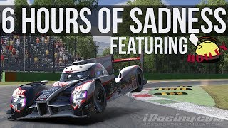 iRacing - 6 Hours Of Sadness FT. Boiley | iLMS 6 Hours Of Monza