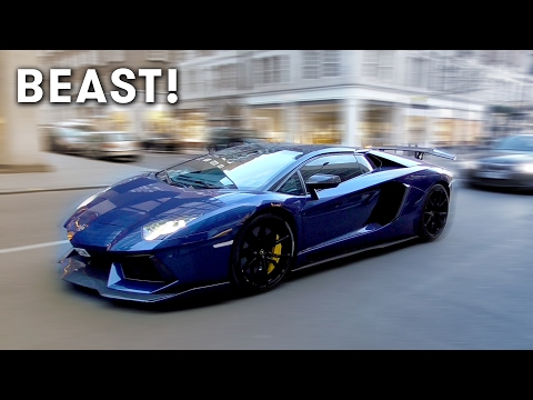 Supercars in London February 2017 Part 1