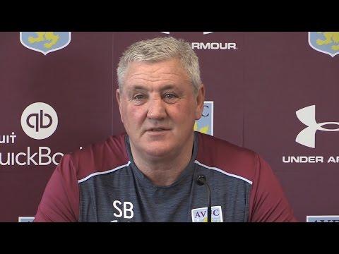 Steve Bruce Pre-Match Press Conference - Burton Albion v Aston Villa