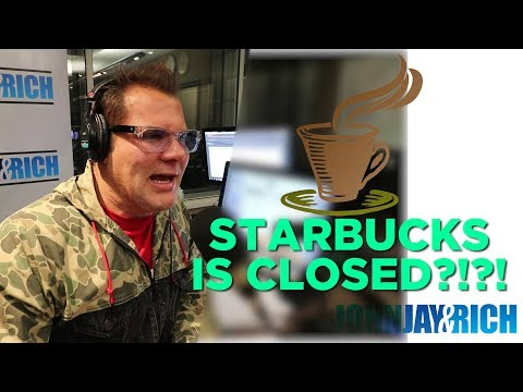 In-Studio Videos - Starbucks is CLOSED?!?!