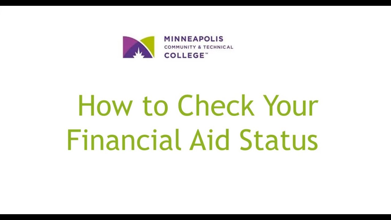 Tracking Your Application | Minneapolis Community & Technical College