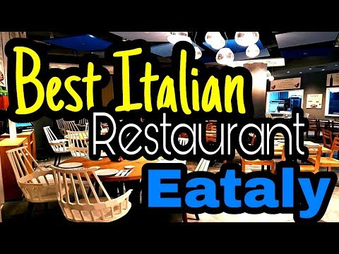 BEST ITALIAN RESTURANT IN RIYADH | EATALY !!!!
