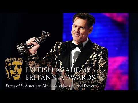 Jim Carrey acceptance speech at the Britannia Awards