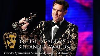Jim Carrey acceptance speech at the Britannia Awards Video