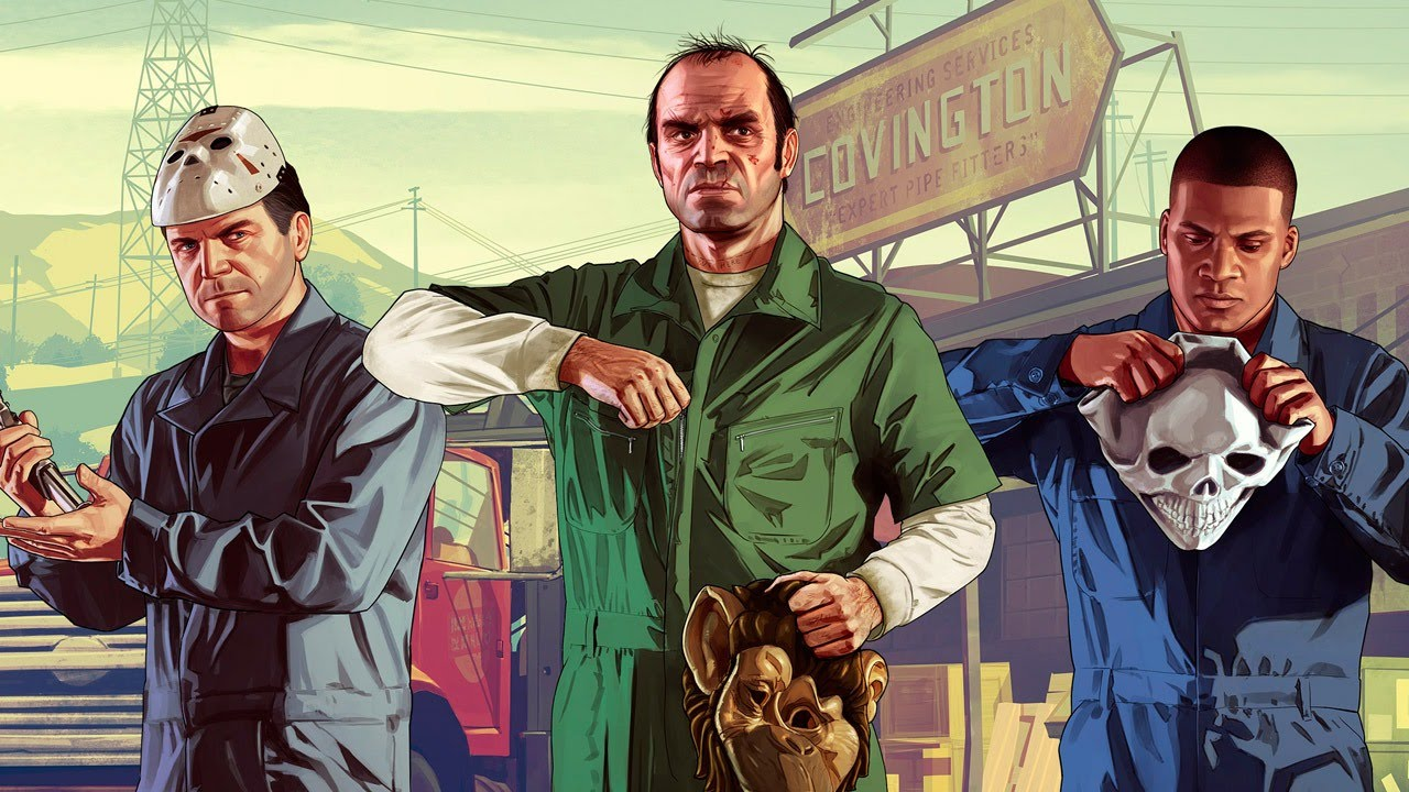 Gta 5 For Xbox One And Playstation 4 Review - Youtube-3301