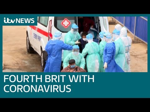 Fourth UK coronavirus case confirmed as Brits arrive home | ITV News