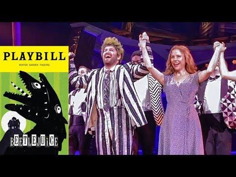 Beetlejuice On Halloween Curtain Call 10 31 19 Youtube