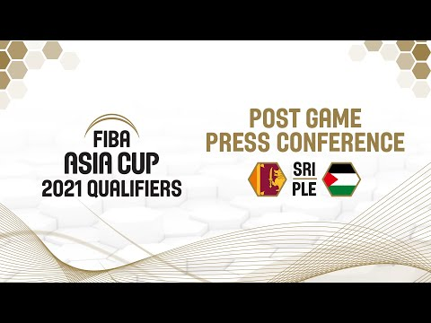 Sri Lanka v Palestine - Press Conference - FIBA Asia Cup 2021 Qualifiers