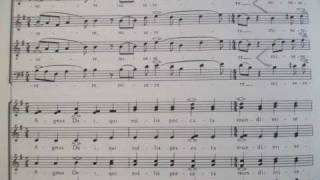 Most Beautiful Music - Agnus Dei by Frank Martin (with score)