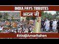 LIVE : Last rites of Bharat Ratna, former Prime Minister Atal Bihari Vajpayee Ji. #AtaljiAmarRahen