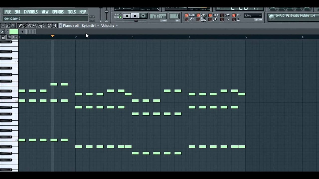 Piano chords in fl studio