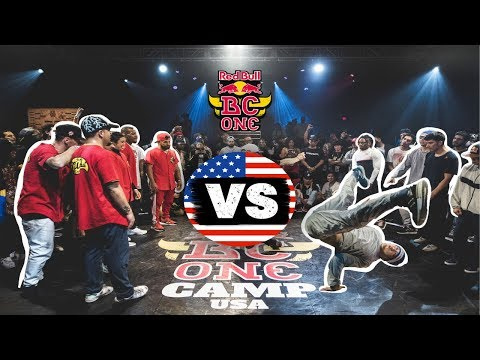 Red Bull BC One All Stars vs USA All Stars  Exhibition Battle  Camp USA 2019