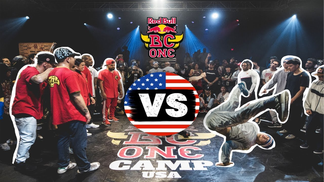 Red Bull BC One All Stars vs USA All Stars | Exhibition Battle | Camp USA 2019