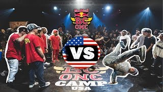 Red Bull BC One All Stars vs USA All Stars | Exhibition Battle - Camp USA 2019
