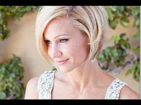 Wedding Hairstyles For Short Hair Bob Youtube
