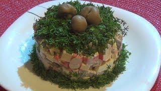Вкусный салат «ГОСТИ НА ПОРОГЕ»