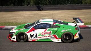 Assetto Corsa Competizione Brands Hatch GP @ Honda NSX GT3