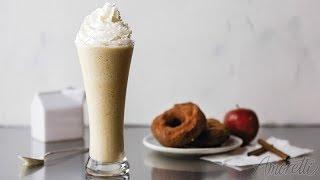 How to Make an Apple Cider Doughnut Milkshake   Milkshake Recipe