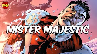 """Who is Image / DC Comics' Mister Majestic? A Darker """"Superman"""""""