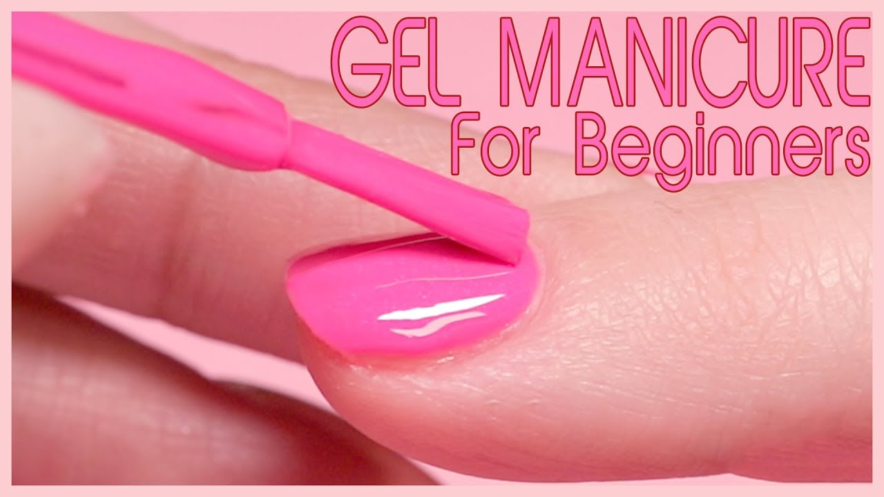 How to Apply Gel Polish - Step by Step - YouTube