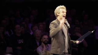 Peter Capaldi for Live Letters
