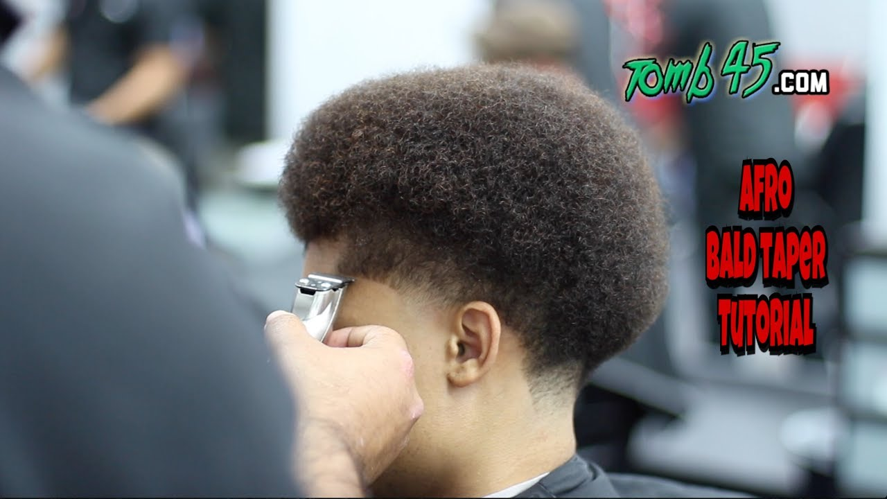 BLOWOUTTAPER AFRO TAPER JOSH CHILDRESS YouTube
