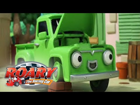 Roary The Racing Car Horse Powered Dinkie