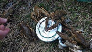 Лов раків в кінці лютого і тест пошукового магніту(Щоденник рибалки)