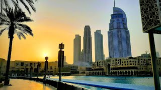 Dancing Fountain of Dubai Mall /Elissa - Aa Bali Habibi song / إليسا - ع بالي حبيبي