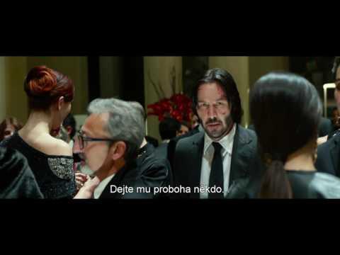 John Wick 2 - hlavní trailer s českými titulky