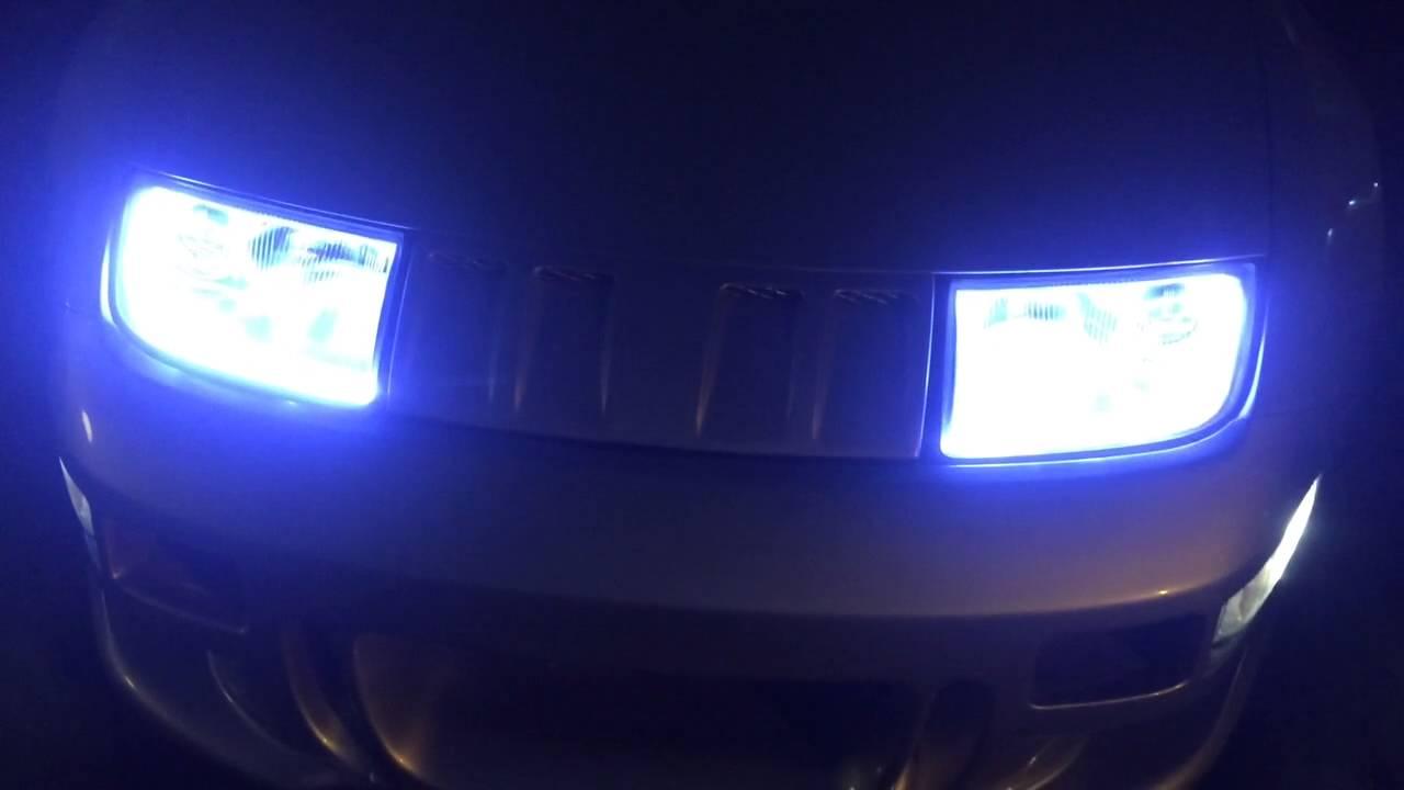 300zx Headlights Custom Drl Z32 Retrofit Lights 5 Youtube