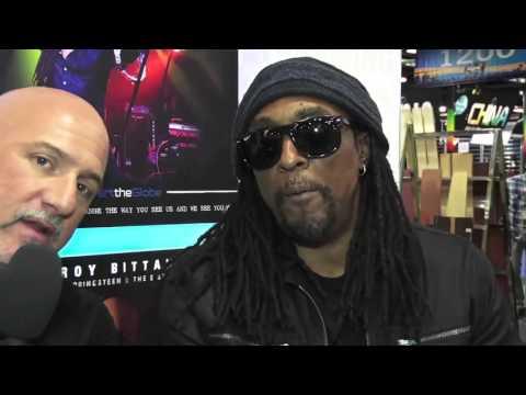2016 NAMM Show: Bernard Fowler Interview
