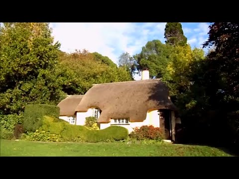 Selworthy Green cottages, Minehead, Somerset, England