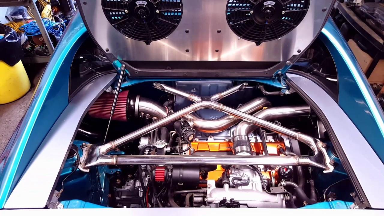 Toyota Mr2 Engine Swap First Start Youtube