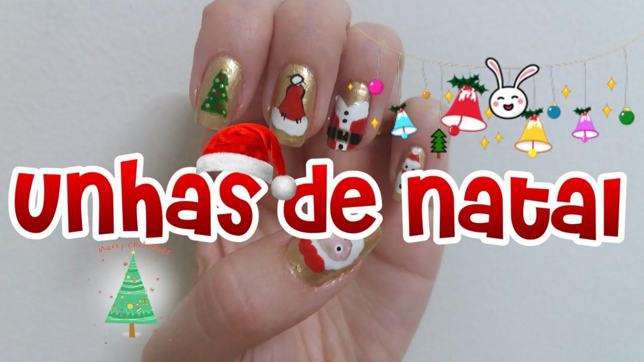 Armario Sin Puertas Niños ~ Especial Unhas de Natal Adesivo na Caixinha de Leite Unhas decoradas YouTube