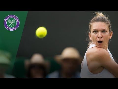 Simona Halep v Victoria Azarenka highlights - Wimbledon 2017 fourth round