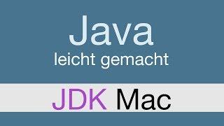 Java Programmieren lernen | JDK Mac installieren - 003