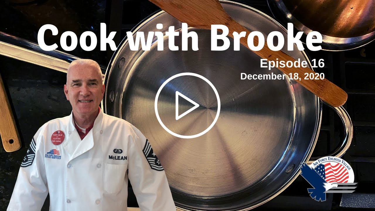 """Brooke and Carrie Make a Holiday Breakfast Casserole on """"Cook with Brooke"""""""
