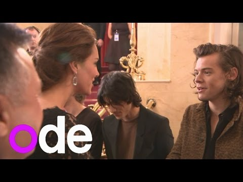 One Direction meet Duke and Duchess of Cambridge