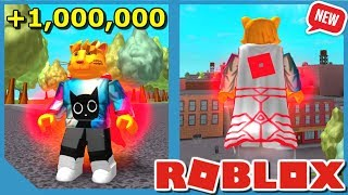 New 1,000,000 Power Super Cape! - Roblox Super Power Training Simulator