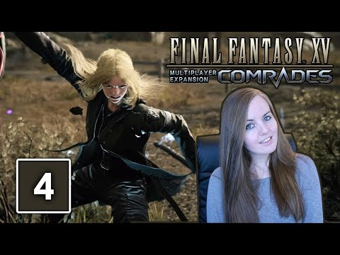 Final Fantasy XV Comrades Multiplayer Gameplay - Hunters Hideaway
