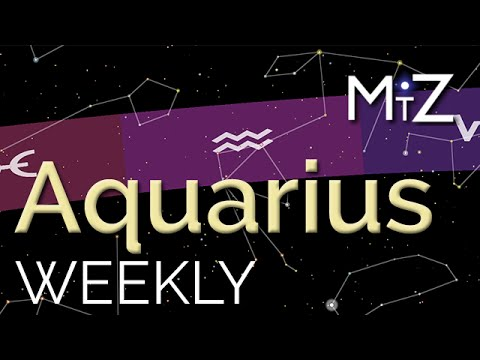 aquarius weekly horoscope 2 november