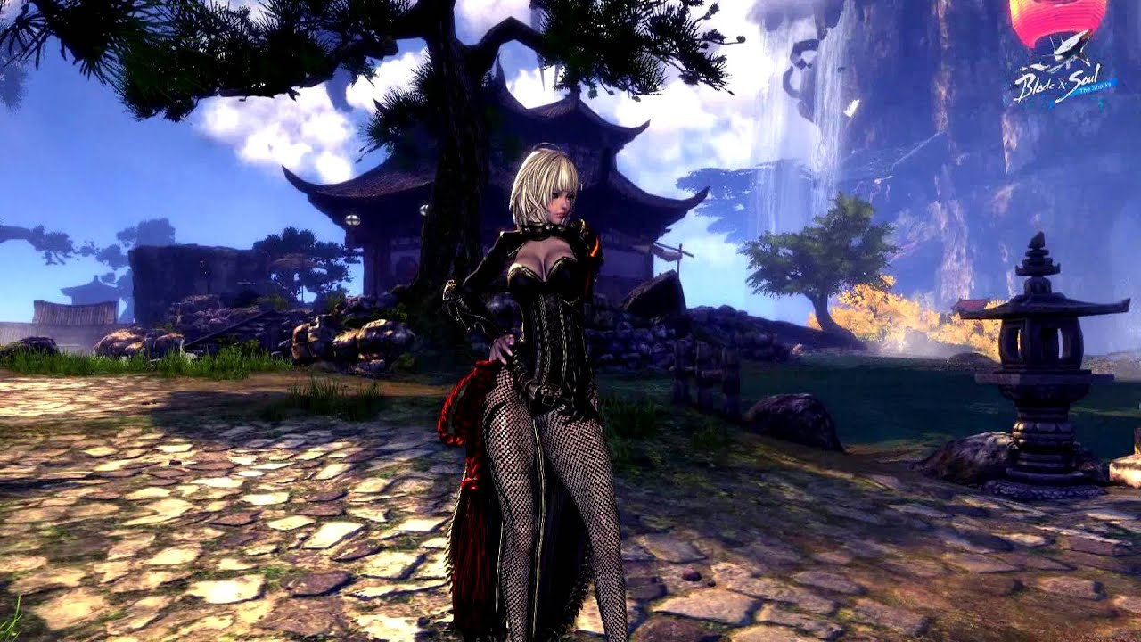 Blade And Soul Rose Black