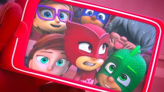 Luna is a Party Crasher! | 2021 HD | PJ Masks Official