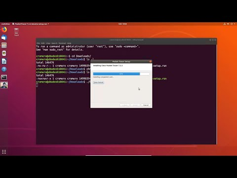 Install Packet Tracer 7.2.2 On Ubuntu Desktop 18.04