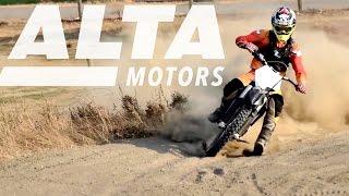 Alta Motors All-Electric Motorbikes