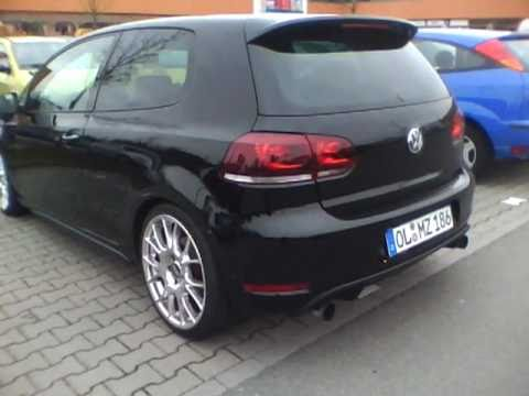 vw golf 6 gti black youtube. Black Bedroom Furniture Sets. Home Design Ideas