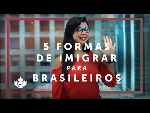 5 FORMAS MAIS COMUNS DE IMIGRAR PARA BRASILEIROS